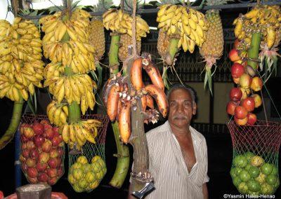 Fruit Stall, Tamil Nadu, India