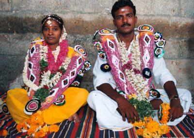 Hindu Bride and Groomj, India-1