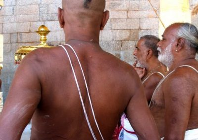 Brahmin Priests, Srirangham Temple, Tamil Nadu