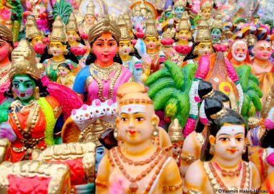 Hindu Divali Icons, Mylapore, Old Chennai, South India Sept, Sept 2006