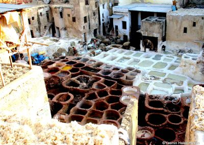 Leather Tannery, Fez, Morocco-1