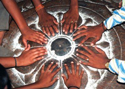 Meenakshi temple worship, Madurai South India-1