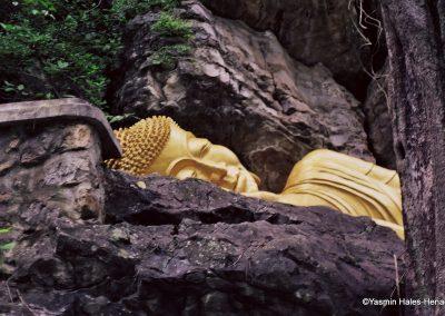 Reclining Buddha, Laos-1
