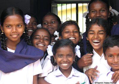 School children, Pothigai, South India