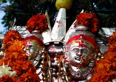 Silver Hindu God Siva (2)-1
