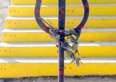 Trident, weapon of Hindu god Siva-1
